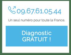 Encart diagnostic gratuit numéro de telephone