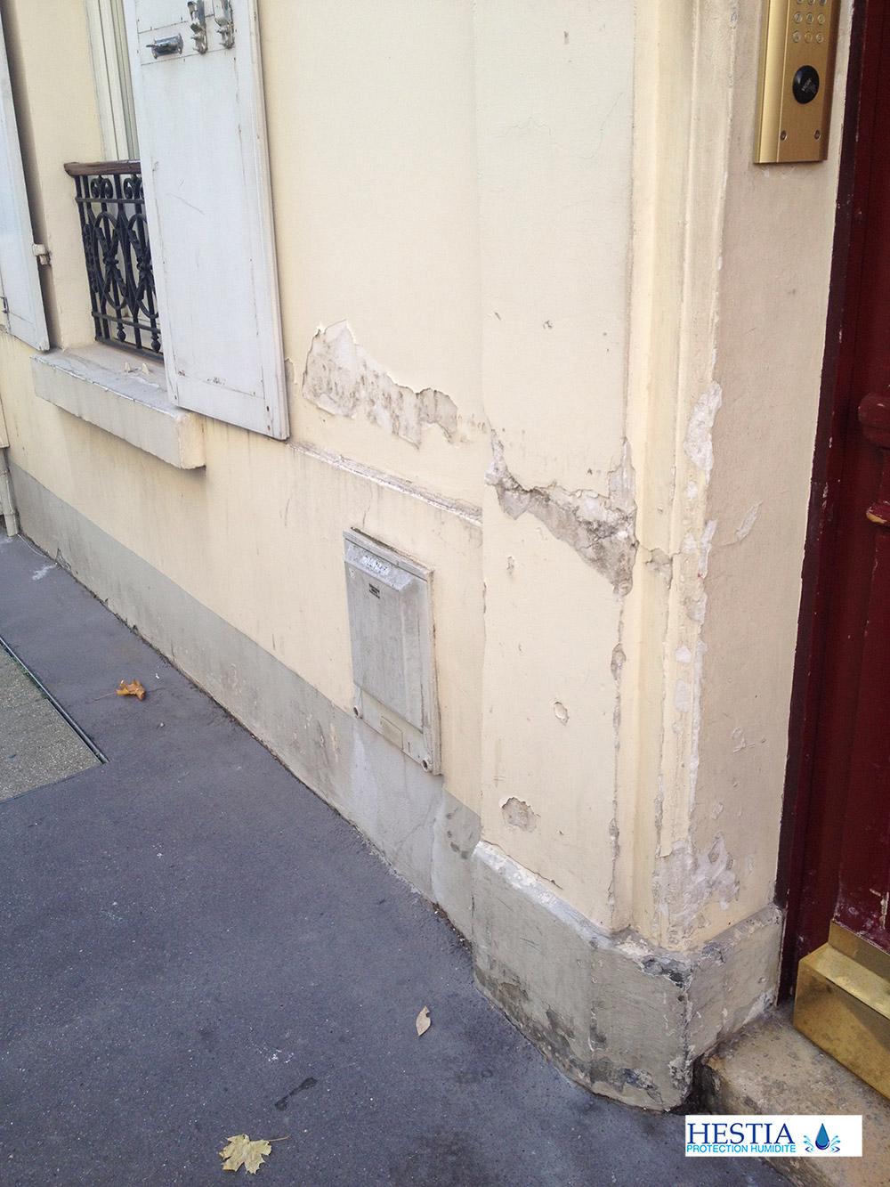 Devis Traitement Humidité  La Rochelle ▷ Coût : Entreprise, diagnostic remontées capillaires murs