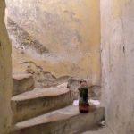 Remontées capillaires escalier