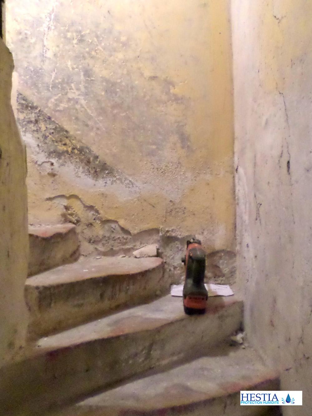 Devis Traitement Humidité  La Roche-sur-Yon → Coût : Entreprise, diagnostic remontées capillaires murs