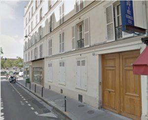 façade d'immeuble rue Chevert à Paris
