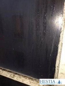 Condensation et moisissures sur fenêtre